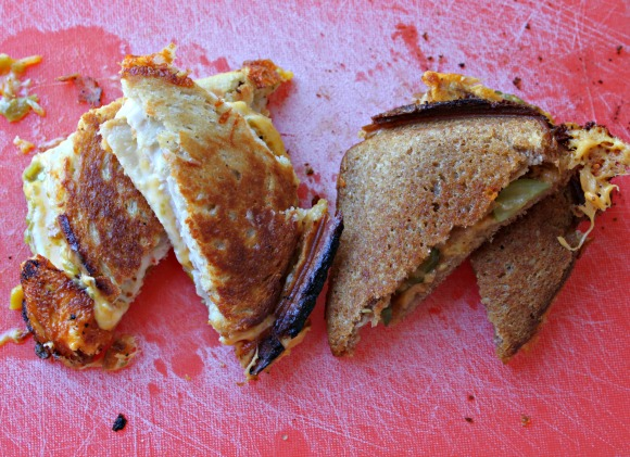 Campfire Grilled Cheese