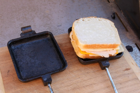 Campfire Grilled Cheese - Ready for Grilling