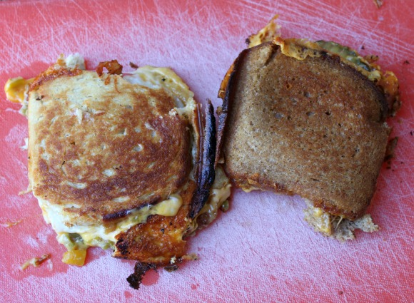 Campfire Grilled Cheese - Uncut
