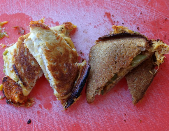 Campfire Grilled Cheese - Final Product