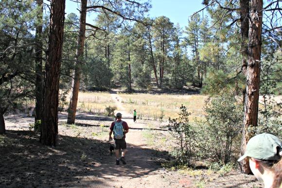 Granite Basin Recreation Area - Correct Trail