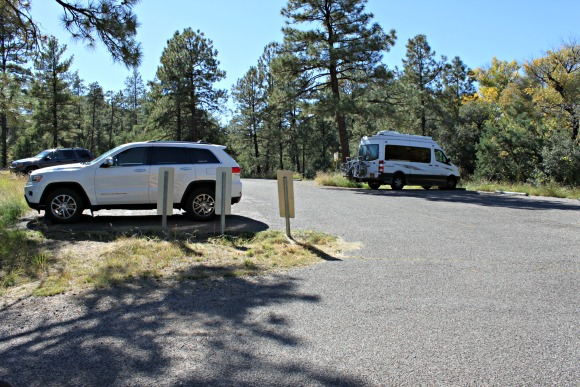 Granite Basin Recreation Area - Parking Lot
