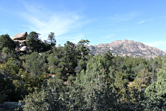 Granite Basin Recreation Area - Mountain Shot