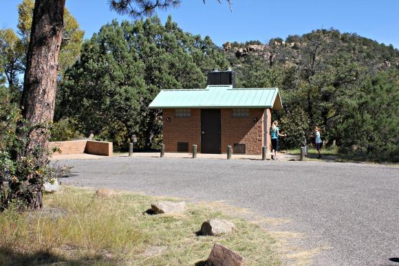 Granite Basic Recreation Area - Restrooms