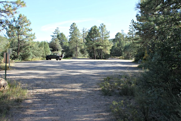 Granite Basin Recreation Area - Cayuse Trailhead Parking Lot
