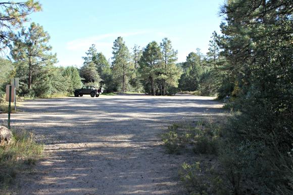 Granite Basin Recreation Area - Cayuse Trailhead Parking Lot