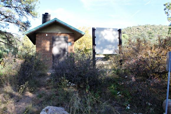 Granite Basin Recreation Area - Cayuse Trailhead Restroom