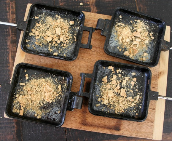 Add more graham cracker crumbs to iron
