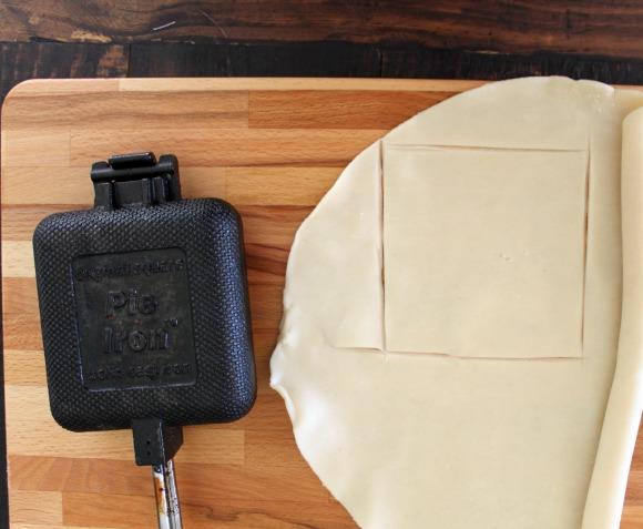 Cut out pie crust
