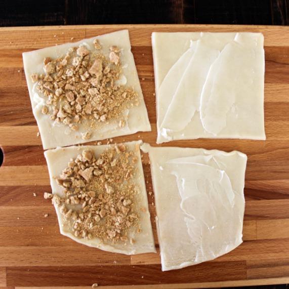 Add graham cracker crumbs