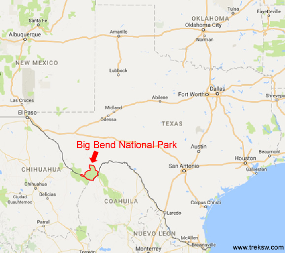Where is Big Bend National Park?