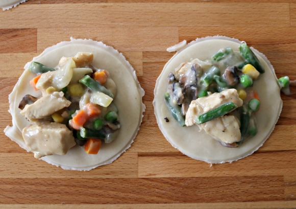 Chicken Pot Pie - Pie Iron Recipe