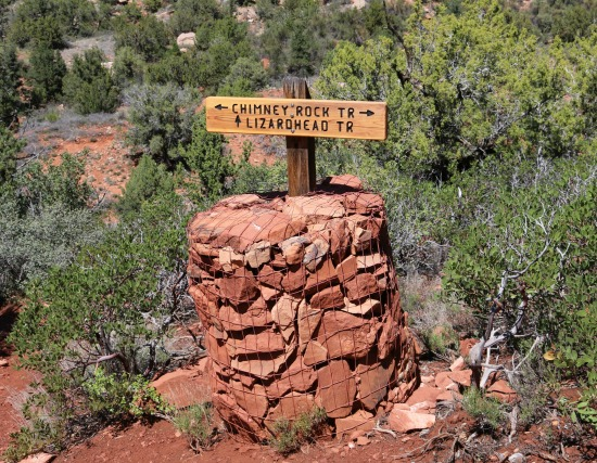 Thunder Mountain Trail/Lower Chimney Rock Trail