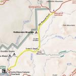 Old Maverick Road Map